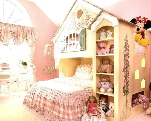 Fairytale Cottage Bunk Bed